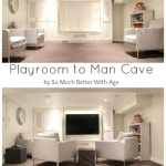 Playroom to Man Cave