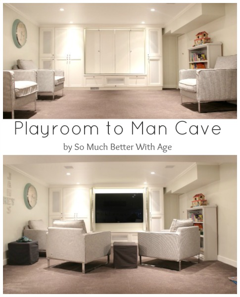 Man Cave Playroom : Playroom to man cave so much better with age