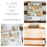 A Junky Trunk Gets Published!
