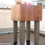 Butcher Block Makeover and Dark Wax Fail & Fix