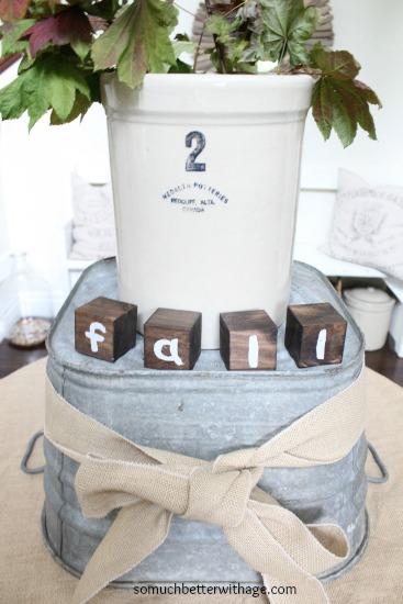 Fall foyer www.somuchbetterwithage.com