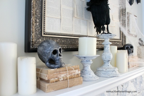 Spooky skulls www.somuchbetterwithage.com