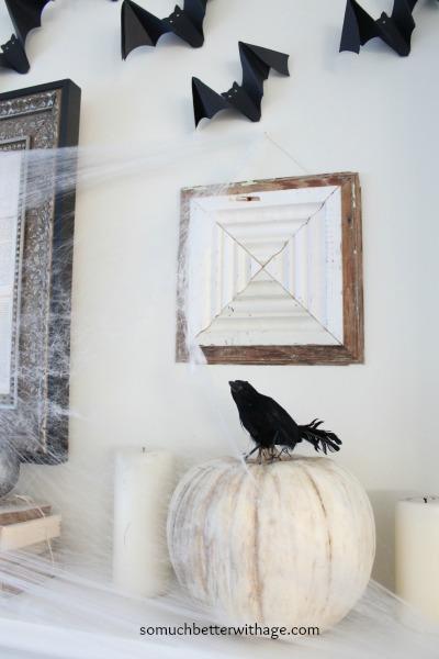 Bats and pumpkins www.somuchbetterwithage.com