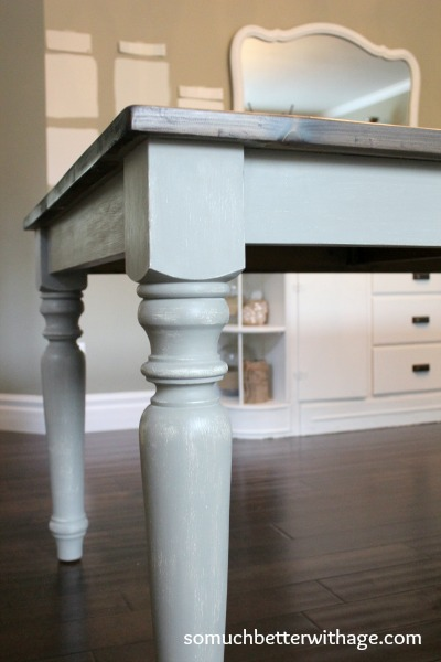 French linen chalk paint www.somuchbetterwithage.com
