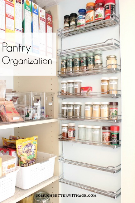 pantry organization somuchbetterwithage.com