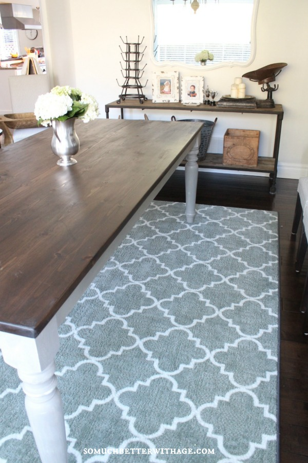 My New Dining Room Rug {Plus Mohawk Rug Giveaway!} | So ...
