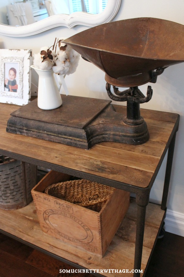 Industrial Beachy French style via somuchbetterwithage.com