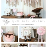 Vintage Equestrian Birthday Party