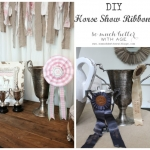 Horse Show Ribbons (and Shabbilicious Magazine)