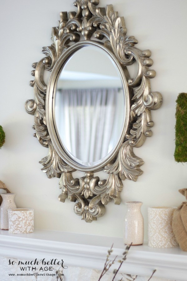 My new french mirror via somuchbetterwithage.com