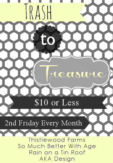 Trash to Treasure series via somuchbetterwithage.com