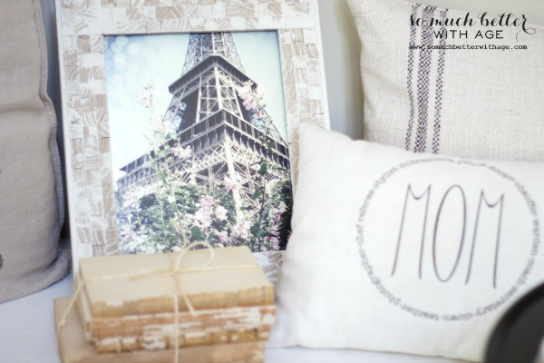 Eiffel tower photography / Mother's day tea party via somuchbetterwithage.com