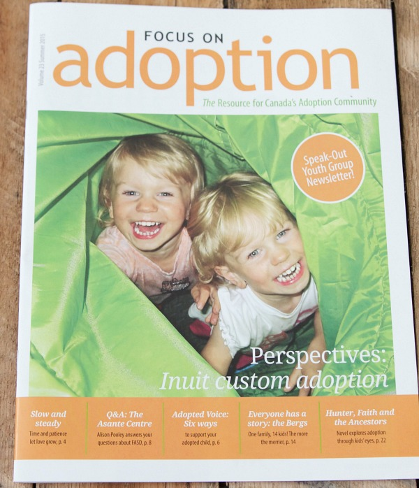 Focus on Adoption magazine