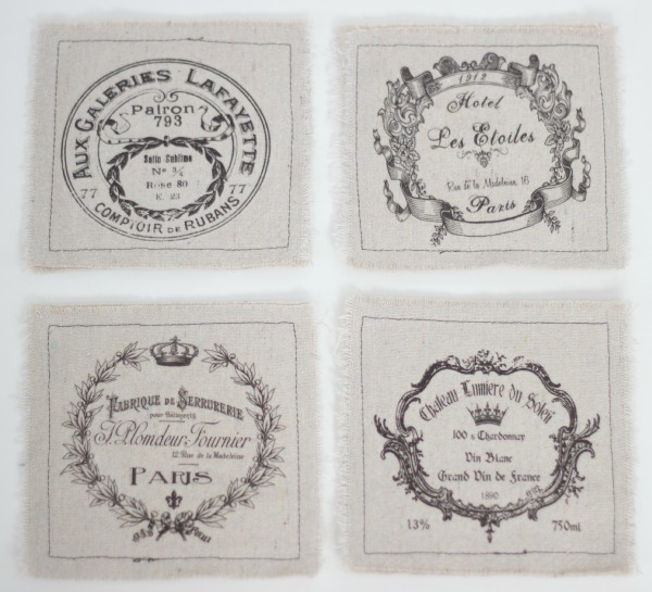 French coasters / Tattered Goods