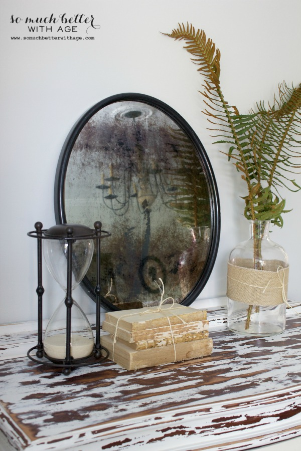 How To Antique A Mirror So Much Better With Age