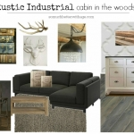 Rustic Industrial Cabin in the Woods
