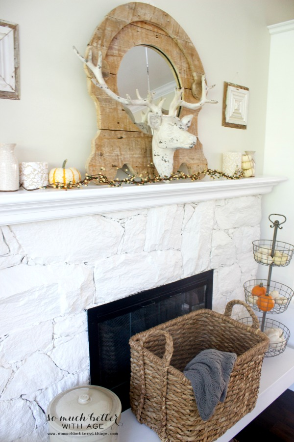 Fall Home Tour 2014/ neutral living room