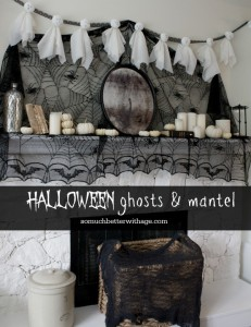 halloween-ghosts-and-mantel