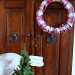 Plaid PJs to Wreath