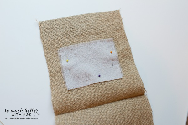 Burlap gift bag sewing tutorial by somuchbetterwithage.com