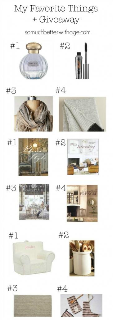 My Favorite Things + Giveaway   somuchbetterwitihage.com