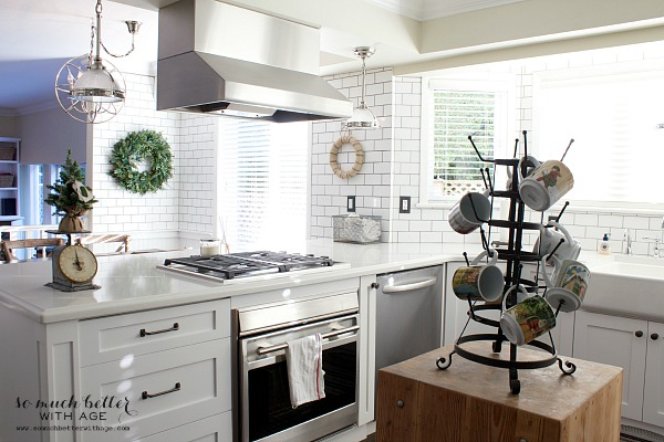 Newly renovated industrial French kitchen by somuchbetterwithage.com