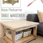 Ikea Rekarne Table Makeover