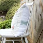 Sentimental Tablecloth to Pillow Cover