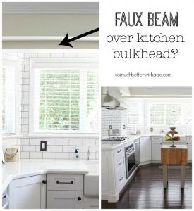 faux-beam-over-kitchen-bulkhead