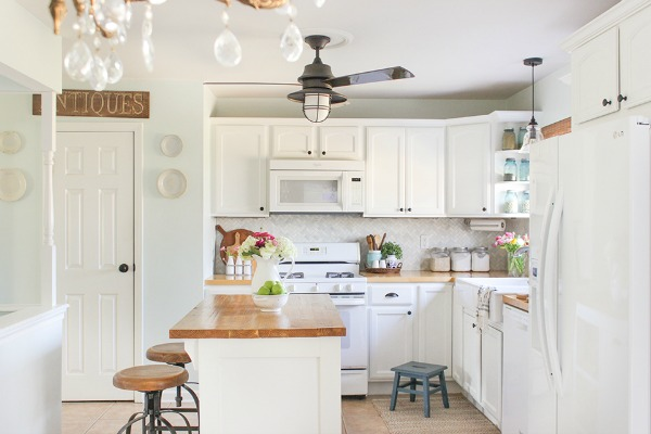 kitchen cabinets vs shelves open shelving vs cabinets so much better with age 21351