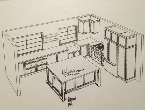 whole kitchen cabinets