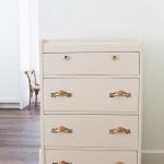 Vintage Pink Dresser Makeover