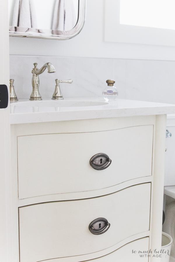 Bathroom Vanity Repair restoration bathroom vanities a new twist on a transitional