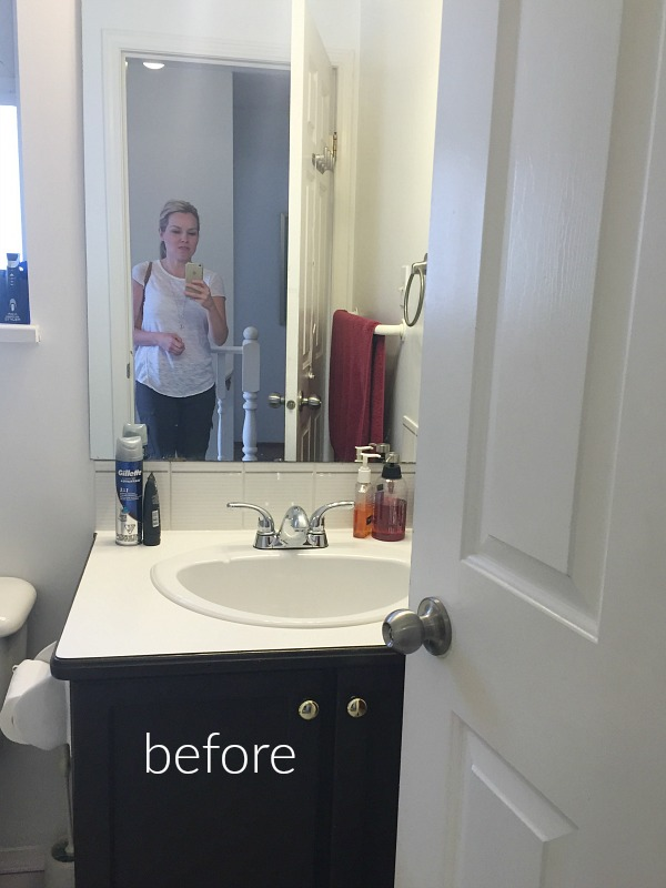 Simple Clean And White Kids 39 Bathroom Reveal So Much Better With Age