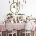 French Country Fall Dining Room