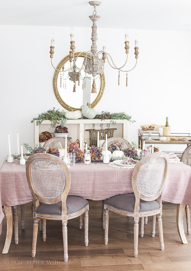 French Country Fall Dining Room- Top 10 Posts of 2016