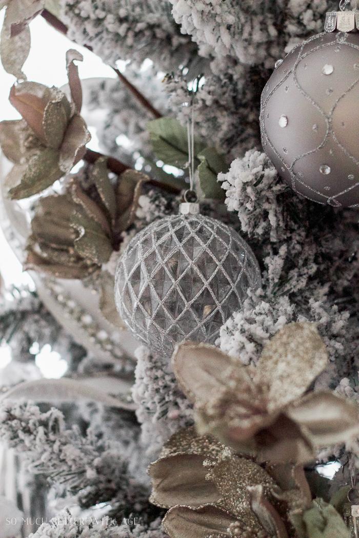 White Velvet Christmas Tree Skirt