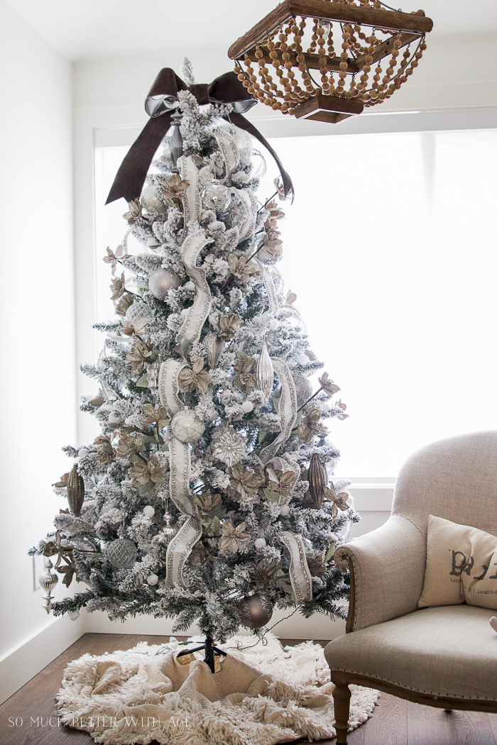 Glittered And Jewelled Christmas Tree Giveaway So Much