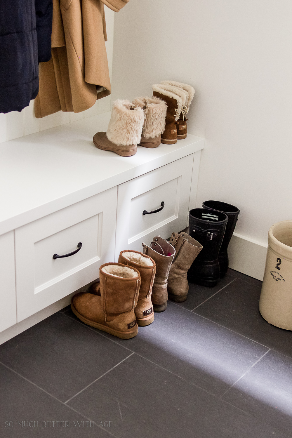 12 Essentials When Renovating a Tiny Mudroom While Keeping it Pretty
