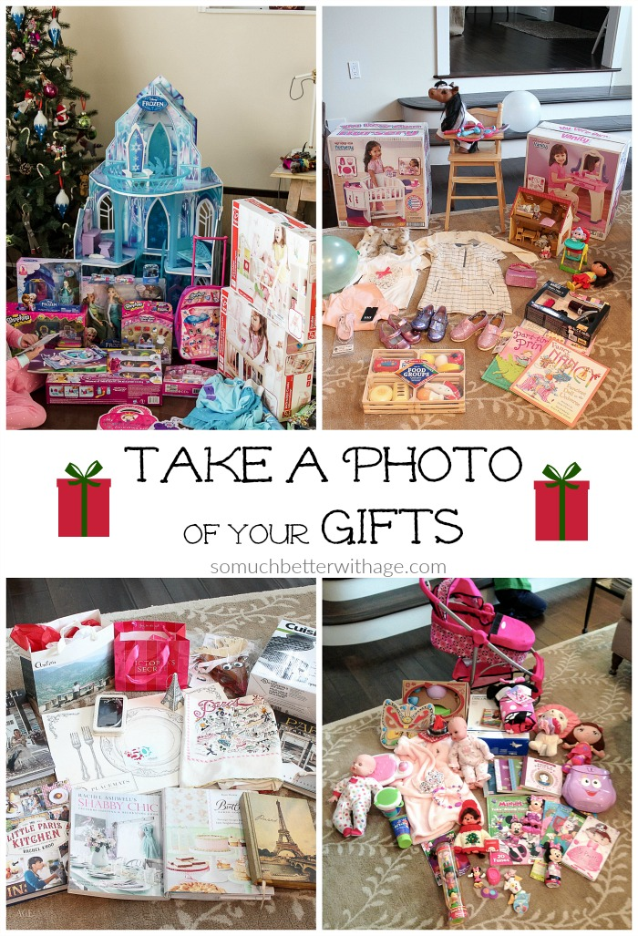Take A Photo Of Your Gifts So Much Better With Age